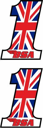 "Picture of BSA  ""1""  Decals / Stickers"