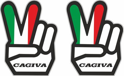 Picture of Cagiva Decals / Stickers