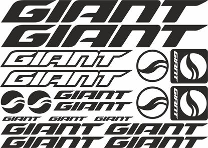 Picture of Giant Frame Sticker kit