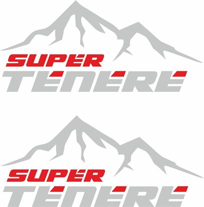 Picture of Yamaha XT Super Tenere  Givi / Touratech Pannier  Decals / Stickers