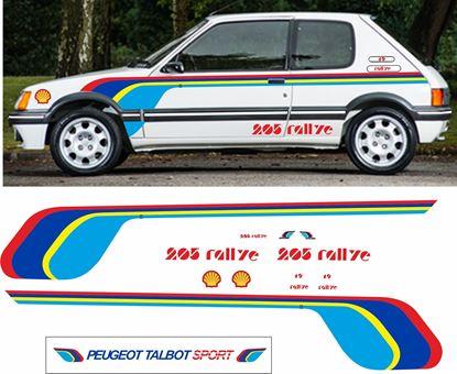 Picture of Peugeot Talbot  205 Rallye Sticker Kit