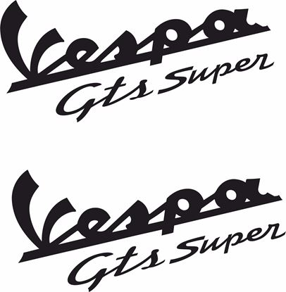 Picture of Vespa GTS Super Decals  / Stickers