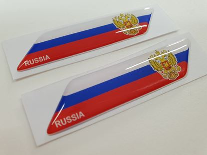 Picture of Russia 70mm Exterior Gel Badges