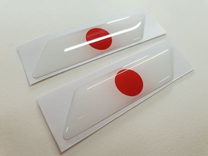Picture of Japan 70mm Exterior Gel Badges