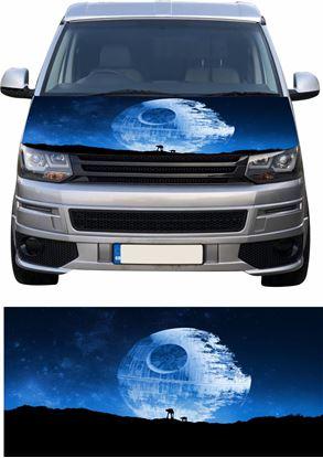 Picture of VW T5 / T6 Star Wars Death Star  Bonnet Vinyl Wrap
