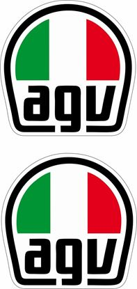"Picture of ""AGV""  Track and street race sponsor Decals / Stickers"
