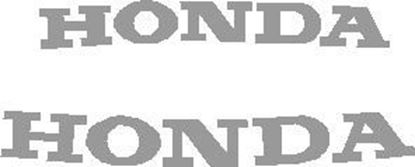 Picture of Honda Blackbird Front and Rear for 2000-2004 replacement Decals / Stickers