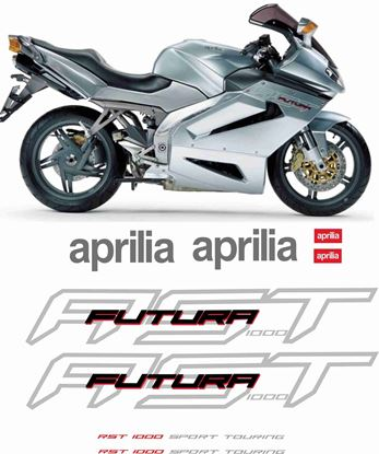 Picture of Aprilia RST 1000 Futura  2001 - 2004 replacement Decals / Stickers
