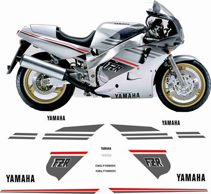 Picture of Yamaha FZR 1000 Exup 1987 Replacement Decals / Stickers