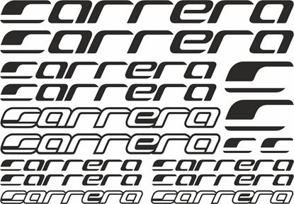 Picture of Carrera Frame Sticker kit