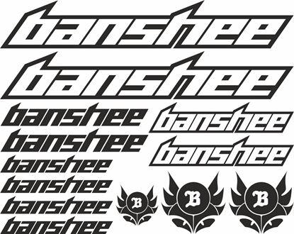 Picture of Banshee Frame Sticker kit
