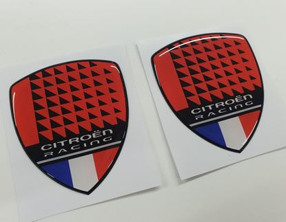 Picture of Citroen Racing adhesive Badges 70mm