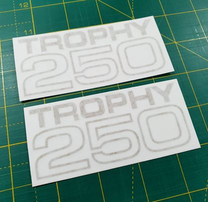 Picture of Triumph Trophy 250 Decals / Stickers