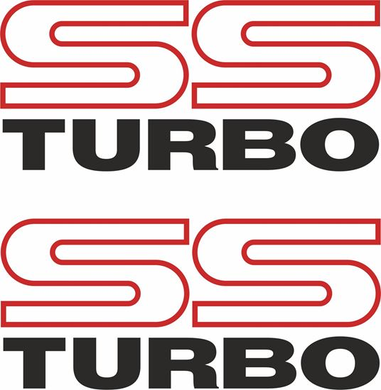 """Picture of Subaru Legacy """"SS Turbo"""" Replacement  Decals / Stickers"""