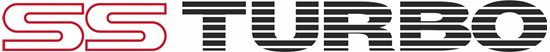 """Picture of Subaru Legacy """"SS Turbo"""" Replacement Boot lid  Decal / Sticker"""