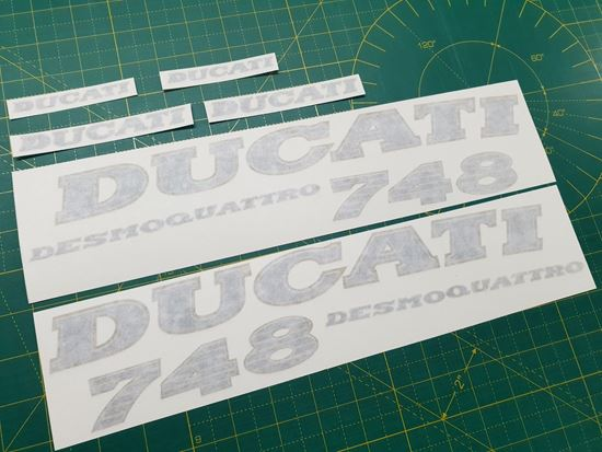 Picture of DUCATI 748  Replacement Decals / Stickers