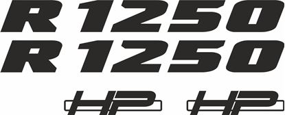 Picture of BMW R 1250 Decals / Stickers