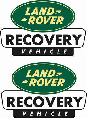 "Picture of ""Land Rover Recovery Vehicle""  Decals / Stickers"