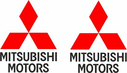 Picture of Mitsubishi Motors Decals / Stickers