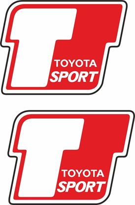"Picture of ""Toyota T Sport""  Decals / Stickers"