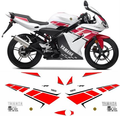 Picture of Yamaha TZR 250 Anniversary  2012 Replacement Decals / Stickers