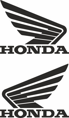 Picture of Honda Fuel Tank Decals / Stickers