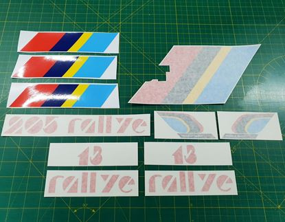 Picture of Peugeot 205 Rallye replacement  Stickers / Decals