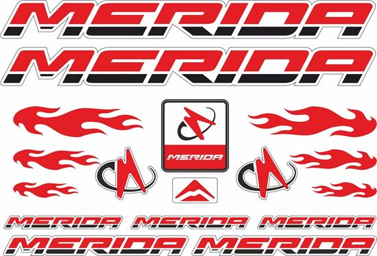 Picture of Merida Frame Sticker kit