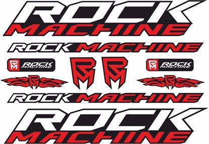 Picture of Rock Machine Frame Sticker kit