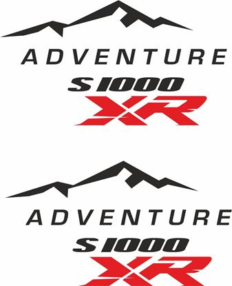 Picture of BMW S 1000XR  Givi / Touratech Pannier  Decals / Stickers