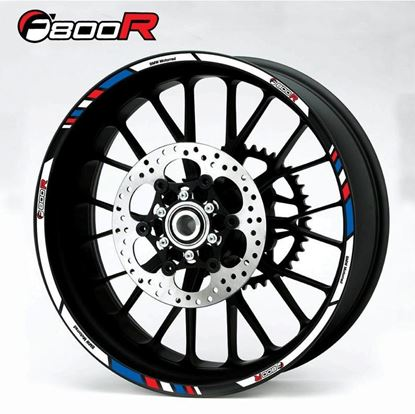 Picture of BMW F 800R  Wheel rim Decals / Stickers kit