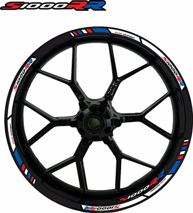 Picture of BMW S 1000RR  Wheel rim Decals / Stickers kit