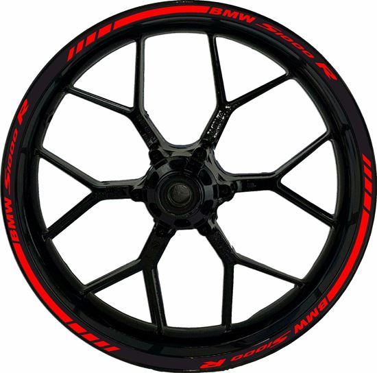 Picture of BMW S 1000R Wheel Rim  Decals / Stickers kit