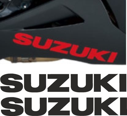 "Picture of GSX-R ""Suzuki"" Custom size Decals / Stickers"