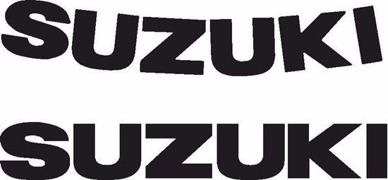 """Picture of GSX-R """"Suzuki"""" Front Fairing Decals / Stickers"""