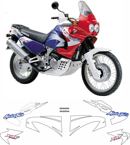 Picture of Honda XRV African Twin 750 2000 - 2001 full Restoration Decals / Stickers