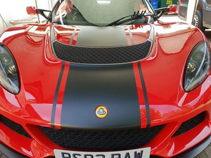 Picture of Lotus Exige S series 3 Bonnet Stripes / Stickers