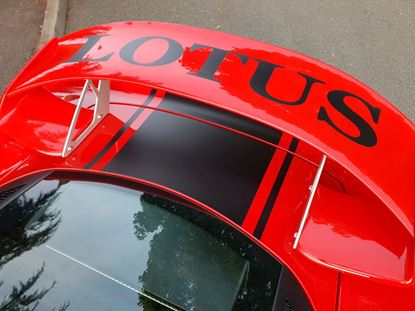 Picture of Lotus Exige S series 3 rear Wing Decal / Sticker