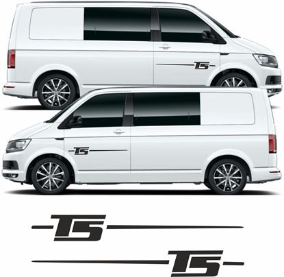 Picture of VW  T5 side Door Decals / Stickers