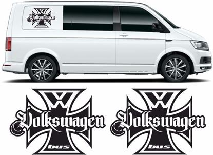 Picture of VW  Transporter side panel Decals / Stickers