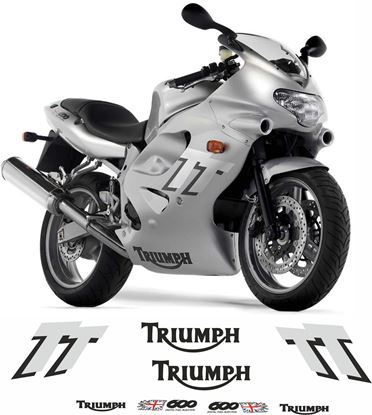 Picture of Triumph TT 600  2003 replacement Fairing / belly pan Decals / Stickers