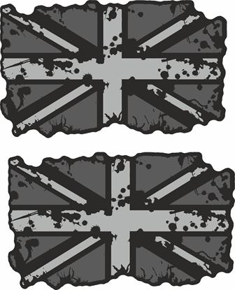 Picture of GB Paint Splat Decals / Sticker