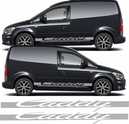 "Picture of VW ""Caddy""  side Stripes / Stickers"
