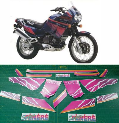 Picture of Yamaha XT750 Super Tenere 1995  Replacement Decals / Stickers