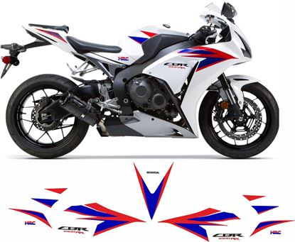 Picture of Honda CBR 1000RR-C Fireblade HRC 2012 - 2016  replacement Decals / Stickers