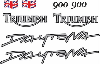 Picture of Triumph Daytona 900 1993 - 1994  replacement Decals / Stickers