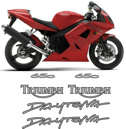 Picture of Triumph Daytona 650 2005 replacement Decals / Stickers