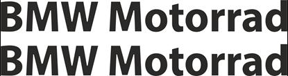 Picture of BMW Motorrad Decals / Stickers