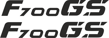 Picture of BMW F 700GS Decals / Stickers