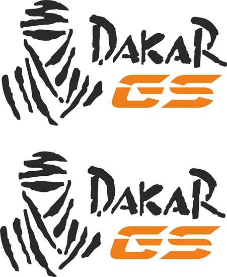 Picture of BMW Dakar GS   Pannier / Panel  Decals / Stickers